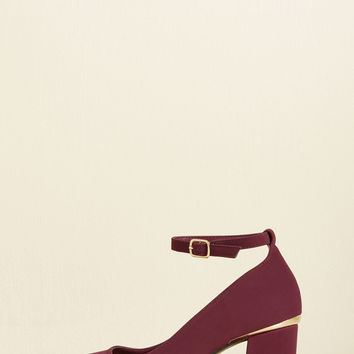 Be There in a Spiffy Heel | Mod Retro Vintage Heels | ModCloth.com