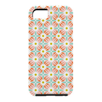Heather Dutton Crazy Daisy Sorbet Cell Phone Case