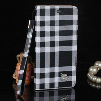 LMFUP0 burberry fashion print iphone phone cover case for iphone 6 6s 6plus 6s plus 7 7plus3