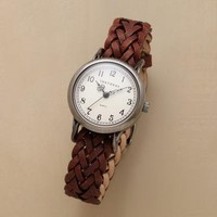 WOVEN IN TIME WATCH         -                  Watches         -                  Jewelry                       | Robert Redford's Sundance Catalog