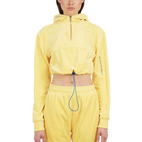 GUIZIO PT2 VELOUR TRACKSUIT - YELLOW