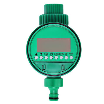 Waterproof Automatic Water Timer Irrigation Watering Timer Electronic Garden Timer Solenoid Valve Sprinkle