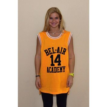 Will Smith 14 Bel Air Academy Basketball Jersey Stitched