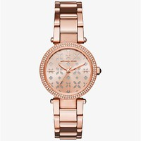 Parker Rose Gold-Tone Watch | Michael Kors
