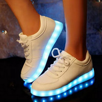 Glowing Shoes With Lights Up Led Luminous Shoes