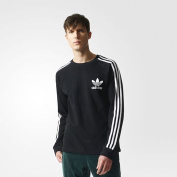adidas 3-Stripes Piqué Tee - Black | adidas UK