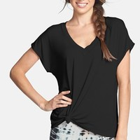 Women's Hard Tail 'Siro' Slouchy V-Neck Tee,