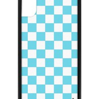 Blue Checkers iPhone X/Xs Case