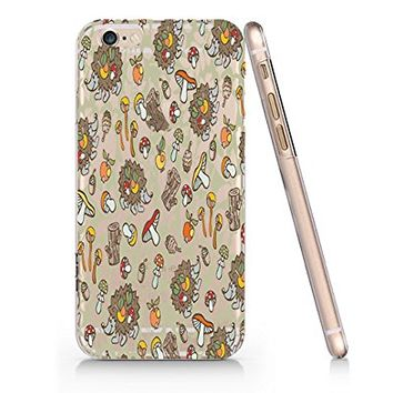 Mushroom Hystrix Slim Iphone 6 6S Case, Clear Iphone 6 6S Hard Cover Case For Apple Iphone 6/6S -Emerishop