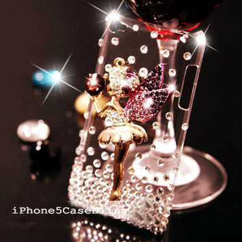 ipod touch 4 case, ipod touch 5 case, ipod touch case, bling ipod touch 4 case, bling ipod touch 5 case, Cute ipod touch 4 case, fairy
