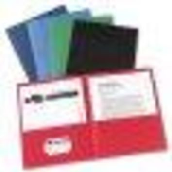 Avery Two-Pocket Folder, 40-SheetCapacity, 25/Box (Quantity)