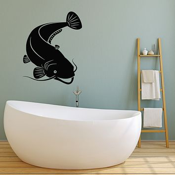 Vinyl Wall Decal Fish Hobby Fishing Marine Ornament Kids Room Stickers Mural (g1385)