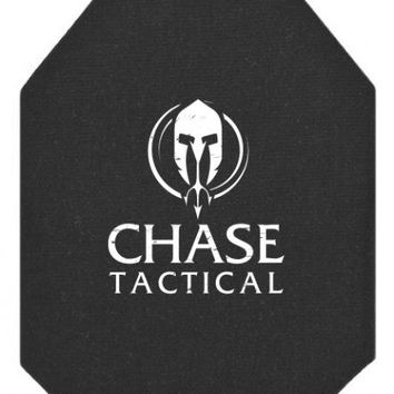 Chase Tactical AR1000 Level III+ Stand Alone Rifle Plate NIJ 0101.06 Certified & DEA Compliant (RHINO EXTREME COATING)