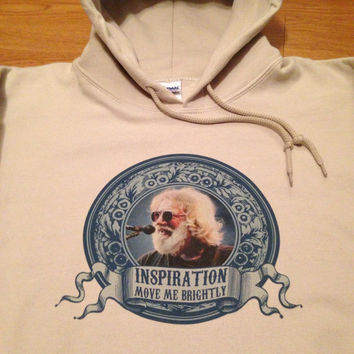 Terrapin Hoodie - Inspiration Move me Brightly Grateful Dead Hoodie - Gildan Heavy Blend