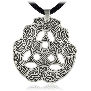 *Eagle Celtic Knot Trinity knotwork Pendant Totem Necklace