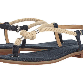 MICHAEL Michael Kors Holly Sandal Indigo Denim/Rope - Zappos.com Free Shipping BOTH Ways
