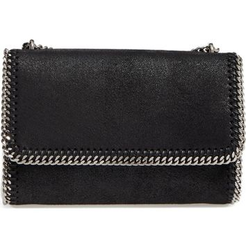 Stella McCartney Shaggy Deer Flap Shoulder Bag | Nordstrom
