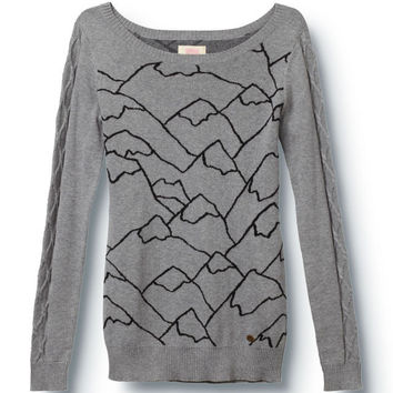 All The Mountains Sweater - QUIKSILVER