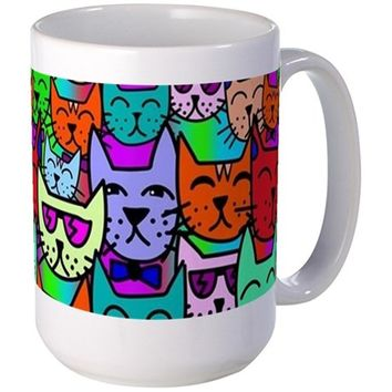 RAINBOW CATS MUGS