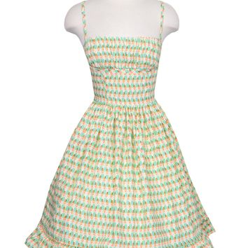 Hildred Dress in Hula Girl Print