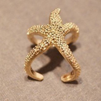 Cute Starfish Ring-Ariel
