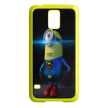 Superman Minion Wallpaper DC Comics Superhero Samsung Galaxy S5 Case