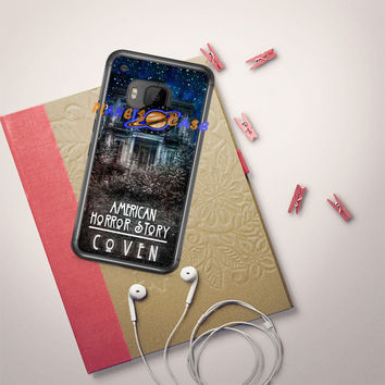 American Horror Story coven In Galaxy HTC One M9 Case Planetscase.com