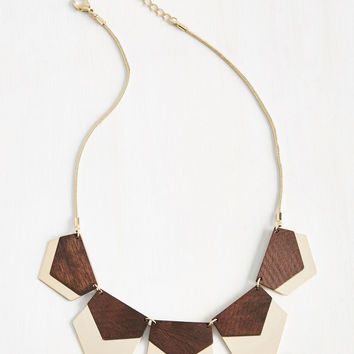 Hex in Line Necklace | Mod Retro Vintage Necklaces | ModCloth.com