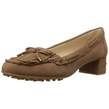 Nine West Womens Westby Heels Moccasins