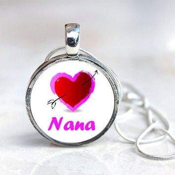 NANA  MAGNETIC Toppers Button Necklace   by jessejanes on Etsy