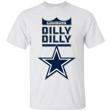 Dallas Cowboys : Dilly Dilly : G200 Gildan Ultra Cotton T-Shirt