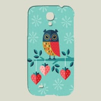 OWL ALWAYS LOVE YOU Galaxy case by daisybeatrice on BoomBoomPrints