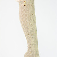 Boot Socks: Tan - One