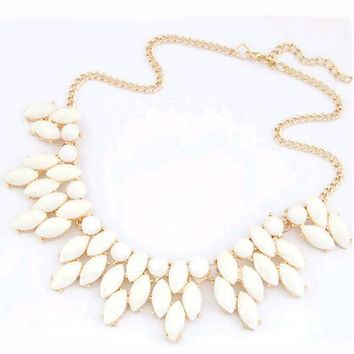 Tomtosh 2016 Necklaces Colar Big Necklace Pendants Hot Sell 4 Colors Jewelry Long Jewelry Woman Maxi Necklace