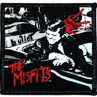 The Misfits Iron-On Patch - Bullet