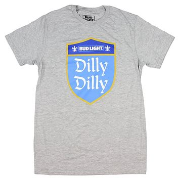 Budweiser Bud Light Men's Dilly Dilly Shield T-Shirt