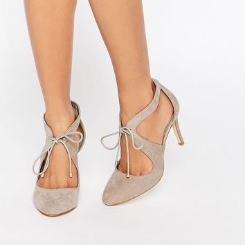 Miss KG Clara Cross Strap Heeled Shoes