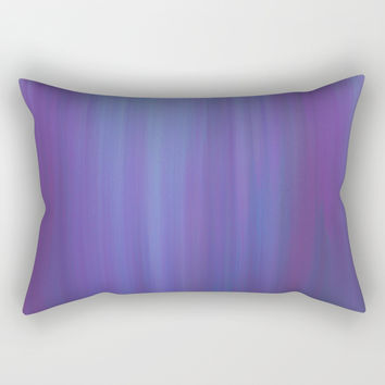 Violet Chromatic Rectangular Pillow by duckyb