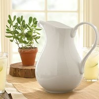 Great White Pitcher | Pottery Barn
