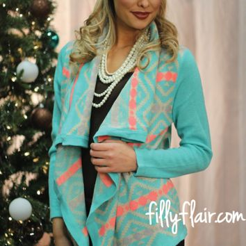 Rise and Shine Cardigan in MINT - What's New
