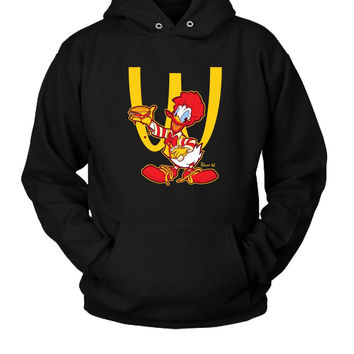 Ronald Mcdonald Duck Hoodie Two Sided