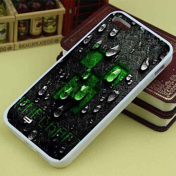 Minecraft Creeper Face Dark custom mixcandy for iphone4/4s/5/5s/5c, samsung galaxy s3/s4/s5 and ipod 4/5 case