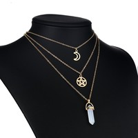 Moon Stoned - Choker Necklace