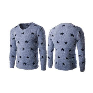 Men's Holiday Star Sweater