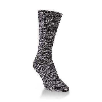 World's Softest Socks - Ragg Crew - Ribbed Leg - Nightfall