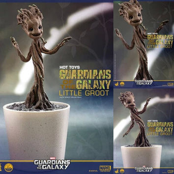 NEW 12cm Marvel Guardians of the Galaxy Dancing Groot toys action figure toy doll