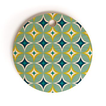 Heather Dutton Astral Slingshot Cutting Board Round