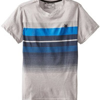 Zoo York Big Boys' Half Faded Short Sleeve V Neck