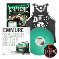 Emmure: Speaker Of The Dead Vinyl, Poster, Basketball Jersey and Patch Package