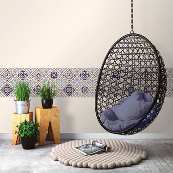 Mexican Tile Peel and Stick Wall Decals